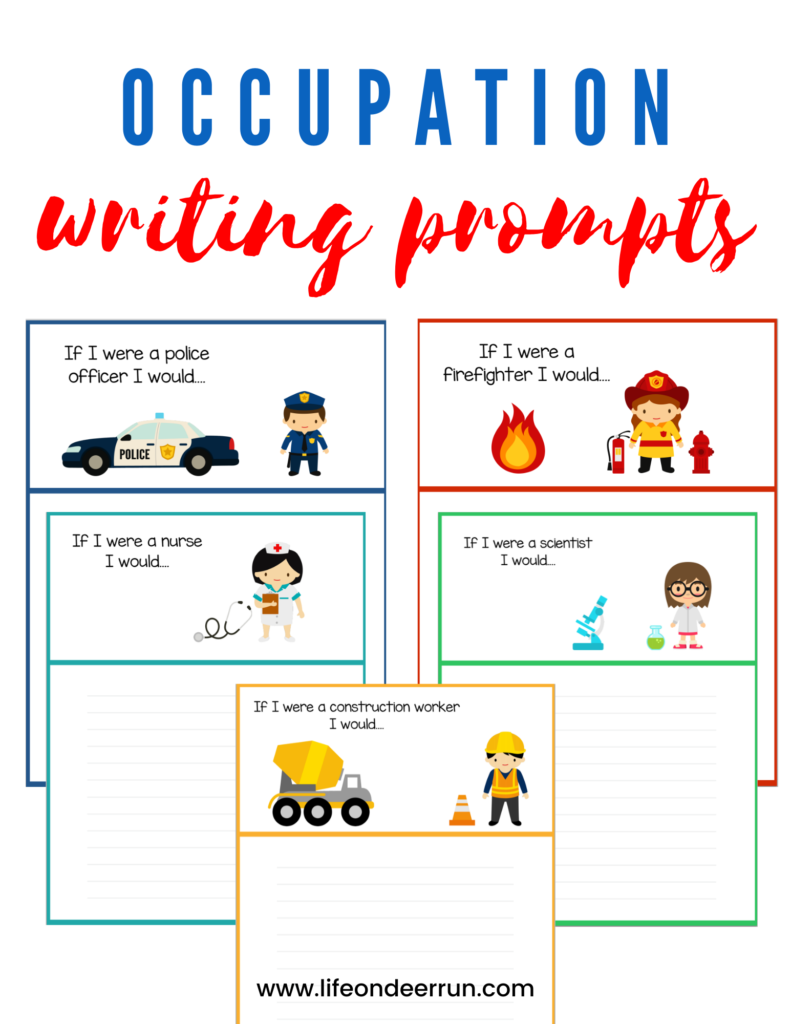 Occupation Writing Prompts